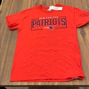 🆕 New England Patriots Red Unisex T-Shirt Medium